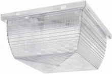 "RAB Lighting VAN2I - VANDALPROOF 8"" X 8"" CEILING 75W INCANDESCENT"