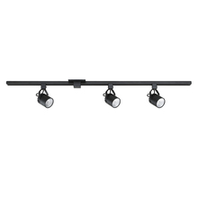 Kendal TKLED-45-BLK - 3 cylinder integrated LED Black Track Lighting Kit