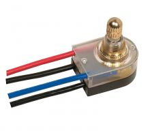 Satco Products Inc. 80/1359 - On-Off Lighted Rotary Switch, Plastic Bushing, Single Circuit. Rated: 6A-125V, 3A-250V