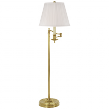 Visual Comfort RL11092BN-S - Stockton Swing Arm Floor Lamp in Natural Brass w