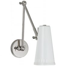 Visual Comfort TOB 2066PN-AW - Antonio Adjustable Two Arm Wall Lamp in Polished