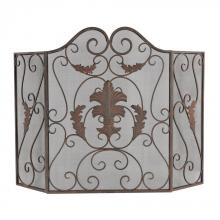 Sterling Industries 51-10161 - IRON SCROLL WORK FIRESCREEN