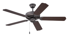 "Ellington Fan WOD52ESP5X - All-Weather 52"" Ceiling Fan with Blades in Espresso"
