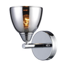ELK Lighting 10070/1 - Reflections 1 Light Wall Sconce In Polished Chro