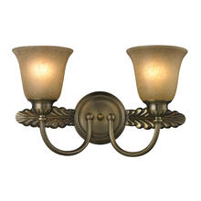 ELK Lighting 11424/2 - Two Light Antique Brass Vanity