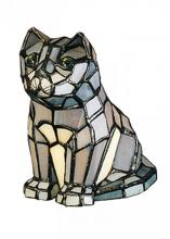 "Meyda Tiffany 11323 - 7""H Cat Accent Lamp"