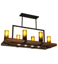 "Meyda Tiffany 133419 - 38""L Grand Terrace Oblong Pendant"