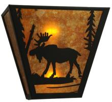 "Meyda Tiffany 81105 - 13""W Moose Creek Wall Sconce"
